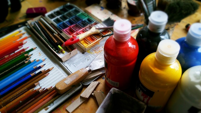 Udfold dig kreativt med Malericentralen-kreativ.dk
